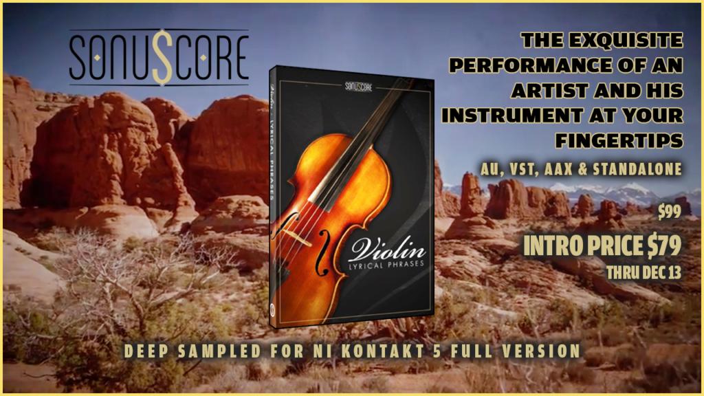 Sonuscore Lyrical Violin Phrases – AudioSage
