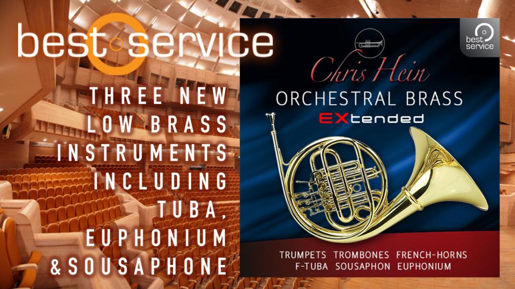 Best Service Chris Hein Orchestral Brass EXtended – AudioSage